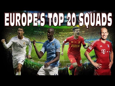 WTF LIVERPOOL SQUAD COST MORE THAN BAYERN MUNICH - MY REACTION! - TOP 20 SQUADS IN EUROPE