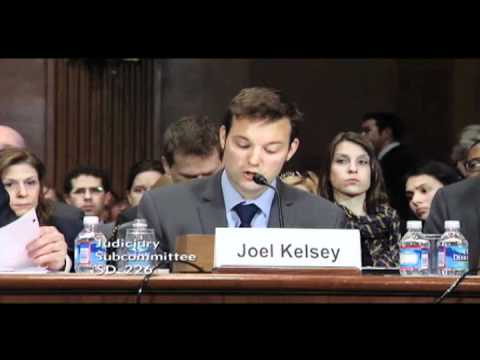 Joel Kelsey of Free Press Testifies for Consumers at Senate Hearing