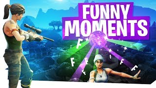 Fortnite Funny Moments - Boogie Bomb Fails, Sneaky Noobs & Awesome Snipes