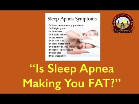 Is Sleep Apnea Making You FAT? JOAN DIET BARS