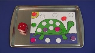 Turtle Playdough Roll and Cover