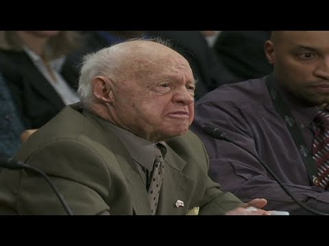 Entertainment legend Mickey Rooney shares his personal story of elder abuse ...