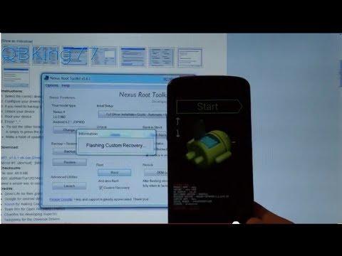 How to Root the Google Nexus 4 - Latest