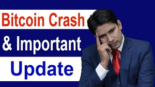 Bitcoin Crash and Important Update in Hindi  Live