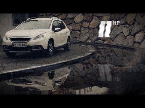 Peugeot 2008, тест-драйв