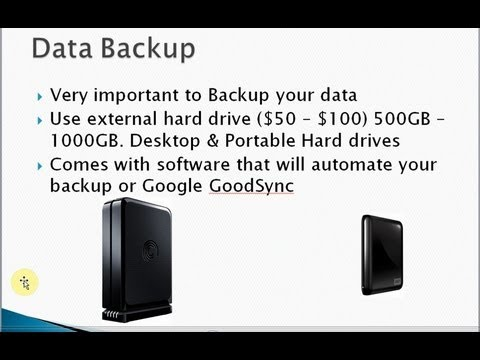 Data Backup, Data Recovery and Virus removal tools