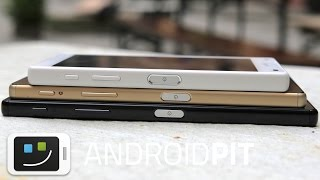 Sony Xperia Z5, Z5 Premium and Z5 Compact: full specs