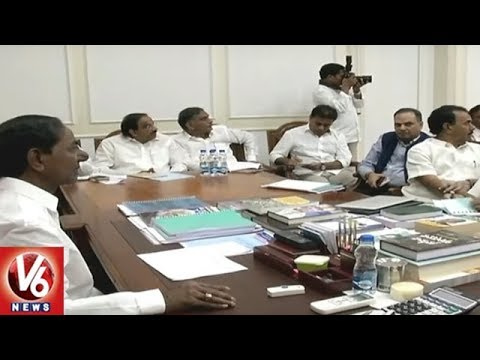 CM KCR Sets Deadline For Mission Bhagiratha | Review Meet With Irrigation Officials | V6 News