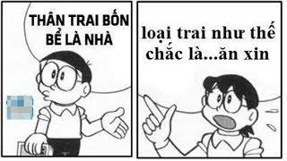 Tổng hợp những bức ảnh chế Doraemon cực hài hước