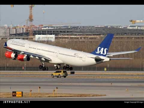 Tribute to Scandinavian Airlines - SAS - in fleet and cabin pictures