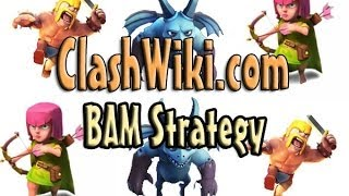 Bam Strategy Clash Of Clans