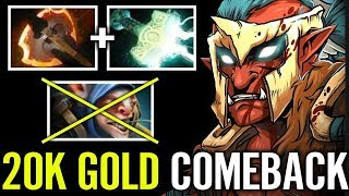 Aui2000 Troll Warlord ComeBack After FEED too much - Dota 2 Highlights