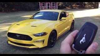 Ford Mustang EcoBoost 2018 - Encendido
