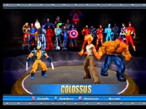 Costume Marvel Ultimate Alliance Marvel Ultimate Alliance Ps2