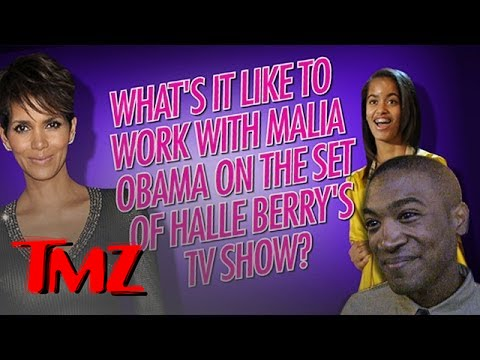 Did Malia Obama Have Secret Service On the Set of Halle Berry's New TV Show??
