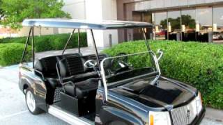 Cadillac Escalade six passenger luxury golf car for sale