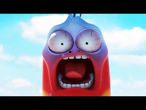 LARVA- VÉSPERA NOVA YORK| 2016 Filme completo dos desenhos animados| Cartoons Para Crianças