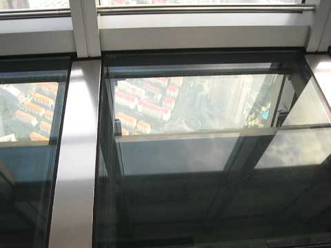 Shanghai World Financial Center, highest observation deck, video 1 of 2