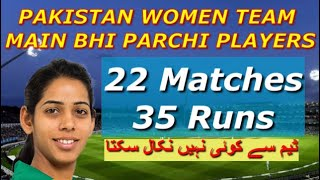 Sidra Nawaz Pakistan Wicket Keeper