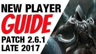 Diablo 3 Tips & Tricks New Player Guide Patch 2.6.1 Season 12 Era
