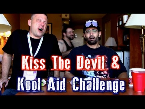 Kiss The Devil & Kool Aid Powder Challenge w/ Chuck From The Bronx | FreakEating vs The World