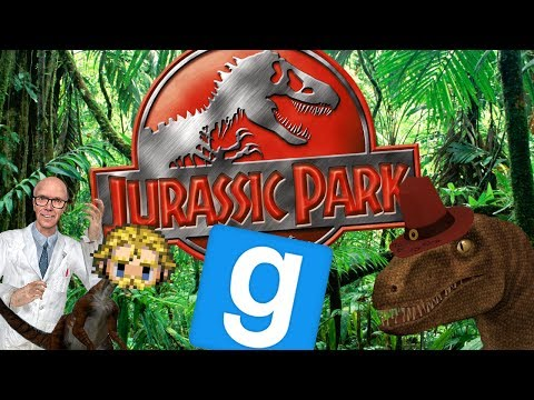 Garry's Mod - Jurassic Park Part 1 - Power Outage