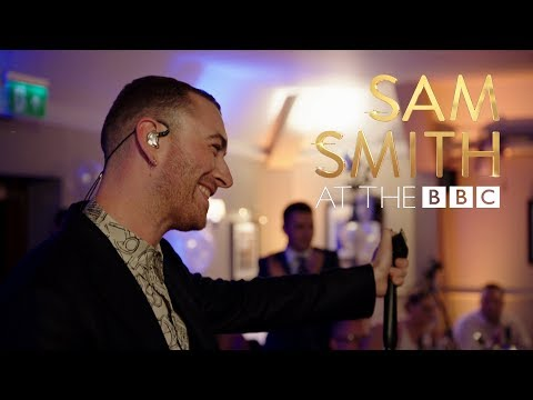 Sam Smith surprises brides at their wedding! At The BBC