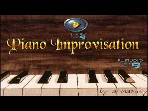 PIANO IMPROVISATION ON FL STUDIO. FRUITY LOOPS. by ALMAZONLY