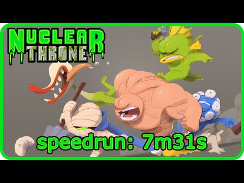 Nuclear Throne - Speedrun: 7m31s with Steroids (update 59)