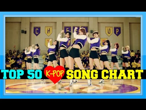 [TOP 50] K-POP SONGS CHART - APRIL 2016 (WEEK 5)