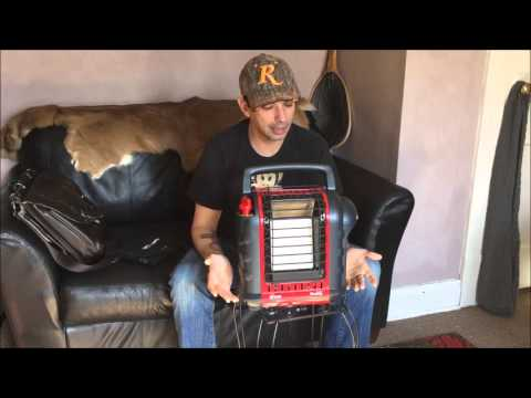 Tiny house tour: how to function off grid while building. Mr. Heater Buddy Heater review and more