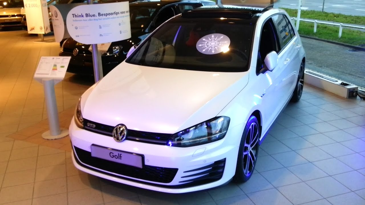 volkswagen golf vii 7 gtd 2015 in depth review interior exterior youtube. Black Bedroom Furniture Sets. Home Design Ideas