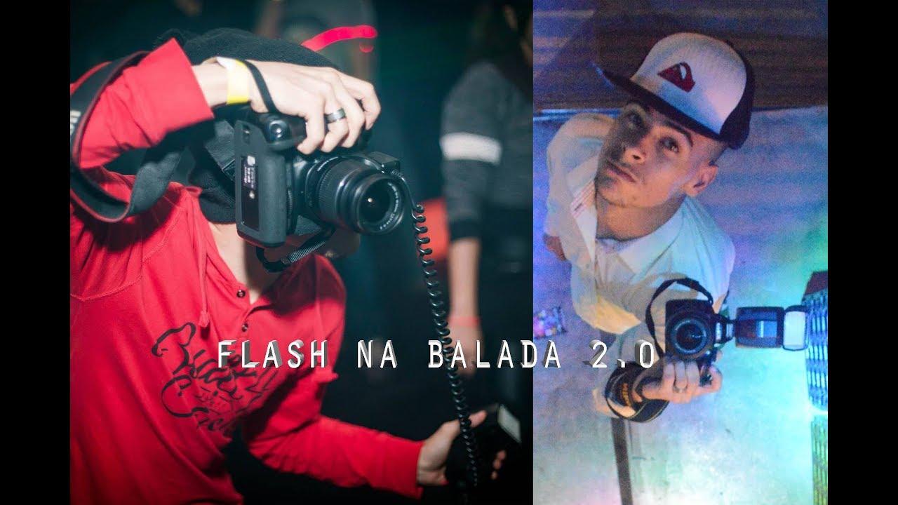 Como usar o flash em baladas