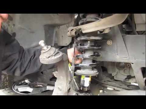 Replacing Struts and coils on a TrailBlazer Part: 1