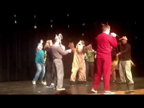 Mahone Middle School Talent Show teacher act 2013
