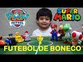Canal do Gu ! - Mario x Patrulha Canina - FINAL do Torneio Futebol de Bonecos