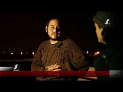Entrevista Pablo Hasel, despues de su juicio en la Audiencia Nacional.
