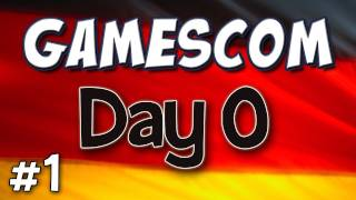 Yogscast - Gamescom Part 1 - Day 0 Diary