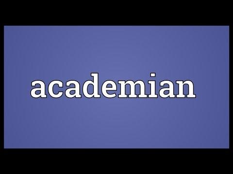 Header of Academian