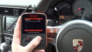 iCarsoft i960 Porsche 911 991 Airbag Light Reset