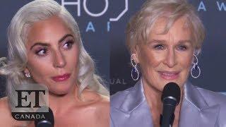 Lady Gaga, Glenn Close Talk Oscar Race