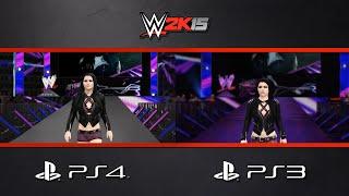 WWE 2K15 DLC: Paige Entrance Comparison (PS4/PS3)