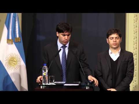 Anuncio para damnificados por las inundaciones en Provincia de Buenos Aires 12/08/2015
