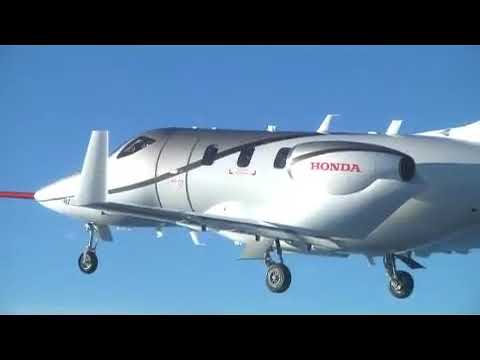 Conforming HondaJet first flight - Dec. 20, 2010