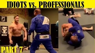 Top 7 Idiots Who Challenged Professional Fighters - Part 7