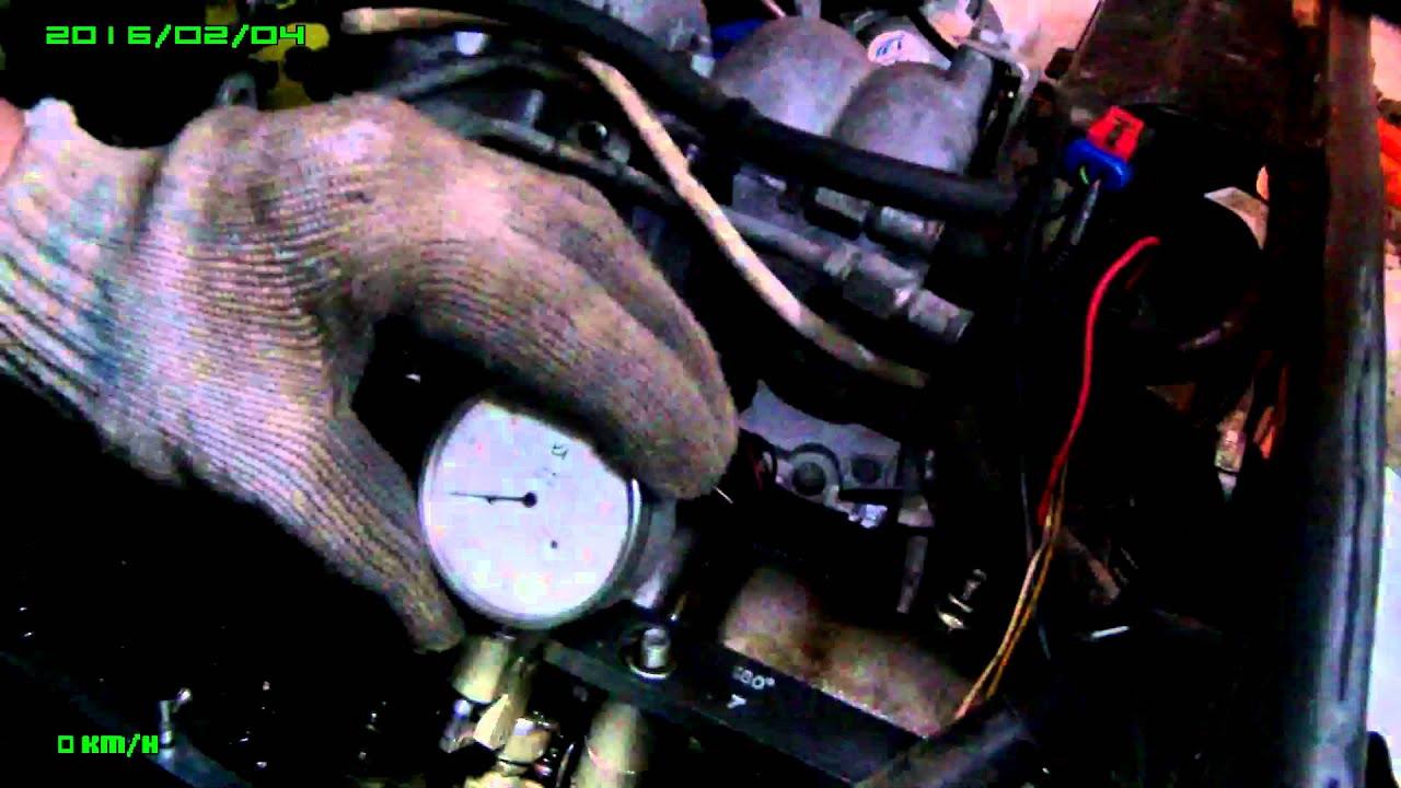 Регулировка клапанов ваз 2107 инжектор своими руками фото