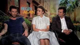 Adam Levine, Keira Knightley & Mark Ruffalo: BEGIN AGAIN