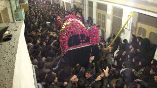 Departure Of Imam Hassan a.s Taboot (Towards Masjid-e-Nabvi) [HD]