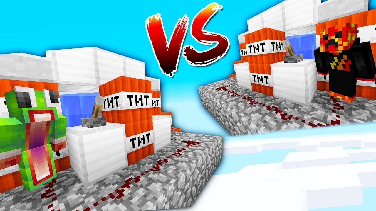 PrestonPlayz vs UnspeakableGaming - 1v1 Minecraft TNT WARS!