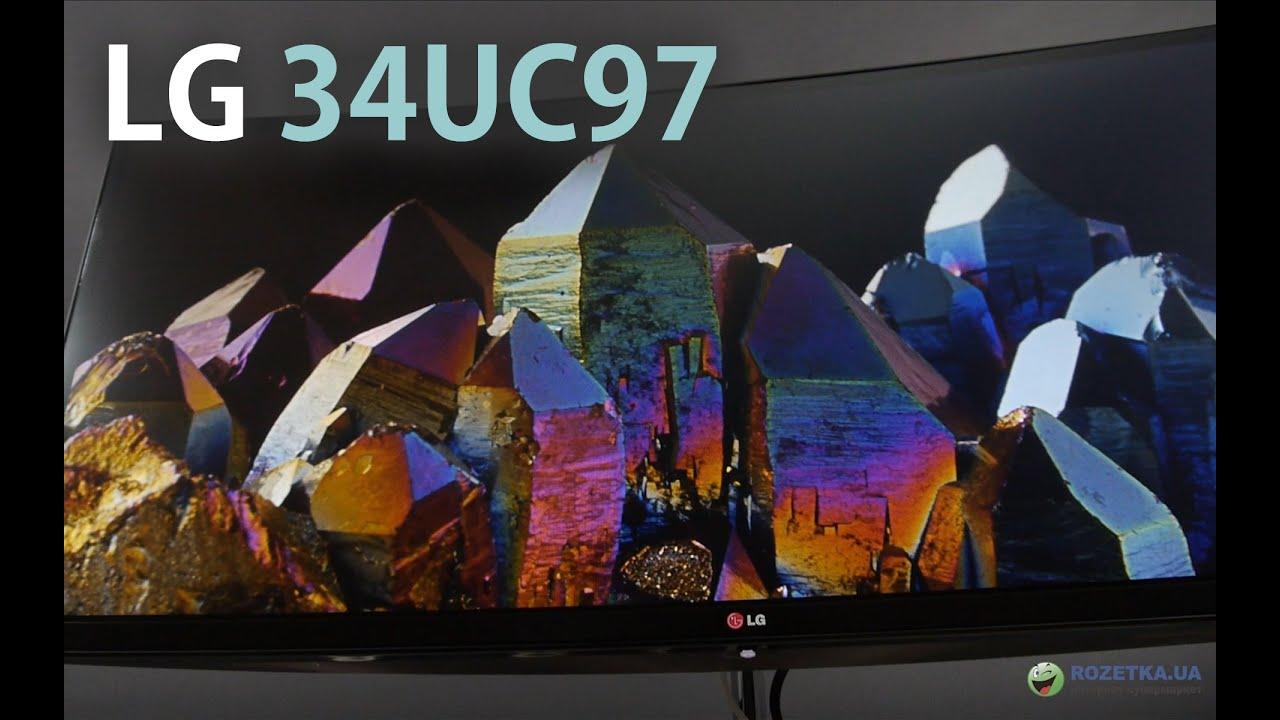 <b>Монитор</b> LG 34UC97-S: обзор изогнутого монитора - YouTube